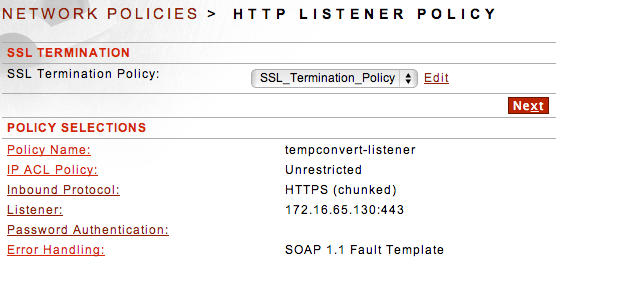 Forum Sentry Listnener SSL