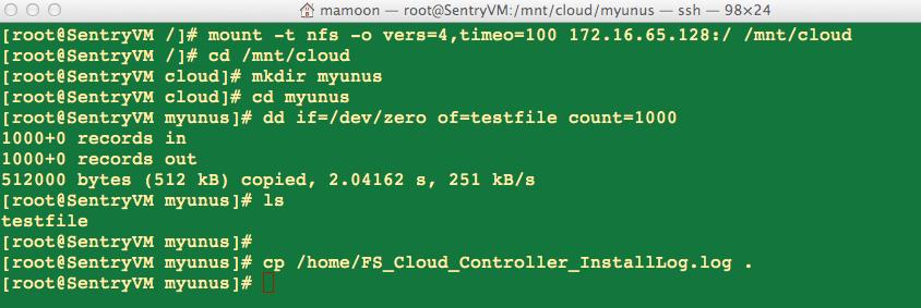 FS-Cloud-Controller-Mount-Create-Dir-File